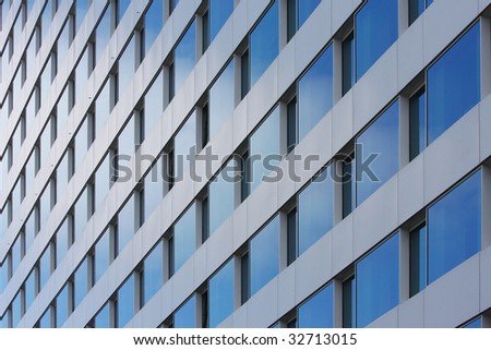 building in the center of brussels - stock photo
