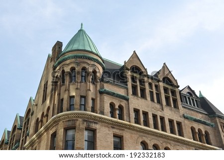 Building in Toronto - stock photo