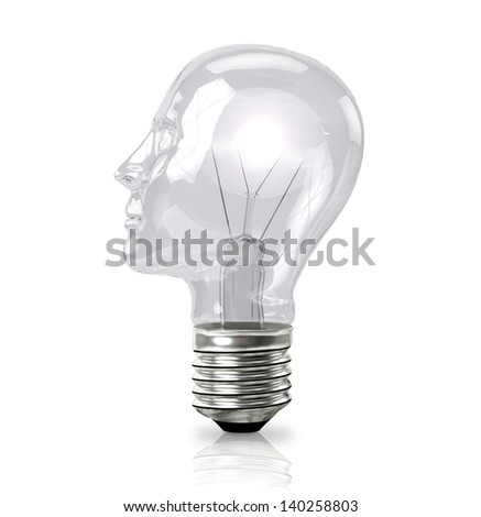 Bulb Head - stock photo