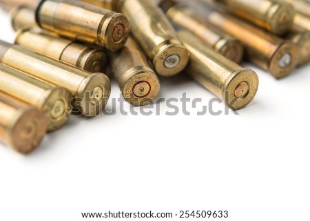 bullet casings - stock photo