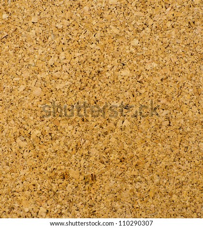 Bulletin board of cork board texture - stock photo