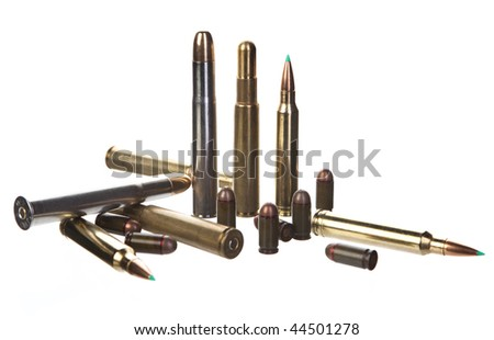 bullets - stock photo