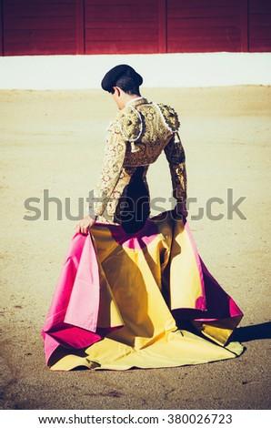 Bullfighter. Torero - stock photo