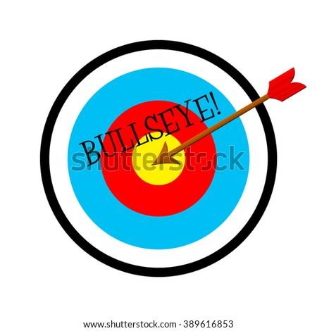 Bullseye - Target - stock photo