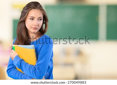 Bullying, Teenager, Depression. - stock photo