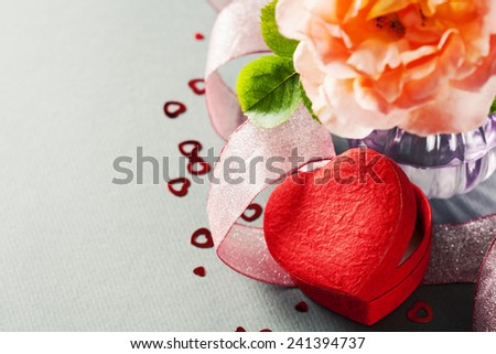 Bunch of beautiful roses packed in paper  - stock photo