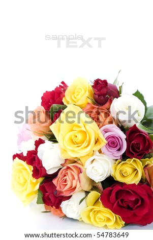 Stock images similar to id 93739696 empty vintage paper for Multi colored rose petals