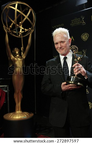 BURBANK - APR 26: Anthony Geary at the 42nd Daytime Emmy Awards Gala at Warner Bros. Studio on April 26, 2015 in Burbank, California - stock photo