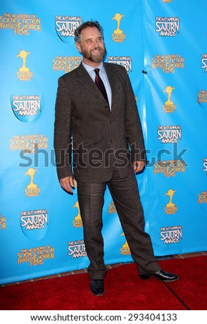 BURBANK - JUNE 25: Lance Guest arrives at the 41st Annual Saturn Awards on Thursday, June 25, 2015 at the Castaway Restaurant in Burbank, CA. - stock photo