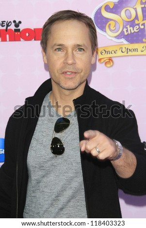 BURBANK - NOV 10: Chad Lowe at the premiere of Disney Channels' 'Sofia The First: Once Upon a Princess' at Walt Disney Studios on November 10, 2012 in Burbank, California - stock photo