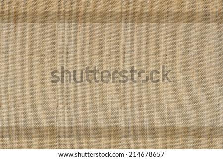 burlap background, texture of sack - stock photo