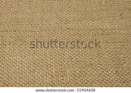 Burlap texture for background - stock photo