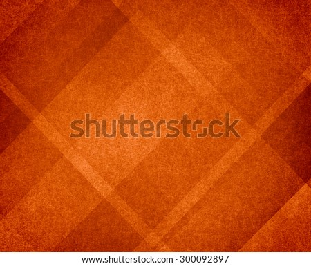 burnt orange autumn background design with lines and angles - stock photo