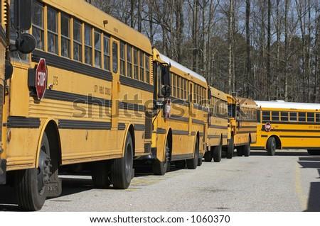 buses - stock photo