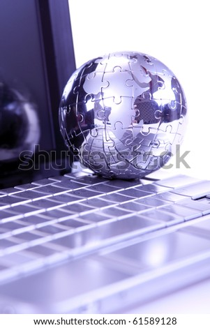 Business and communication concept - stock photo