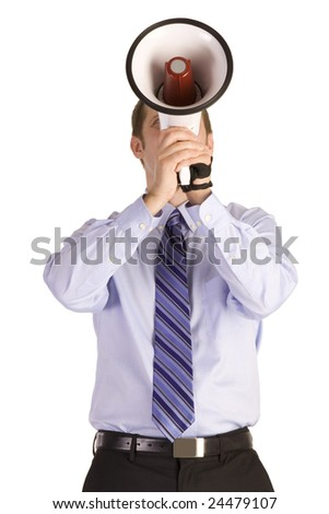 Business Announcement - stock photo