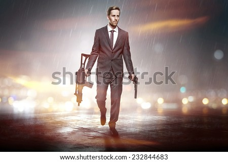Business as usual - stock photo