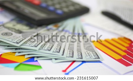 business background - concept of success - stock photo