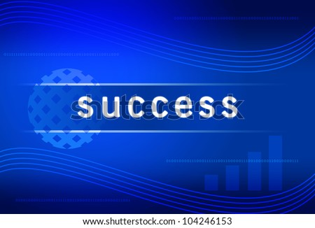 business background success - stock photo