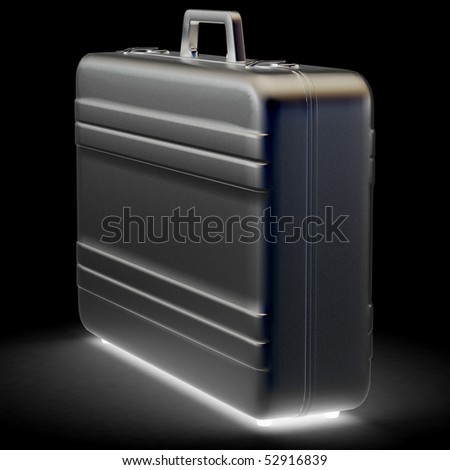 Business briefcase - stock photo