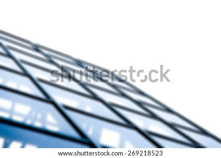 Business building,abstract patterns, blurred background - stock photo
