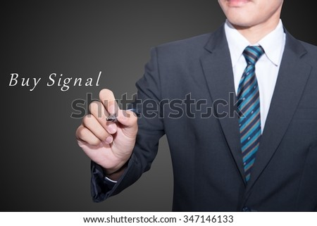 Business button connection web shopping  - stock photo