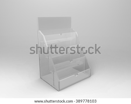 Business Card Holder 3D Render is a professional 3D render that can be used for various marketing campaigns, as well as brand marketing. - stock photo