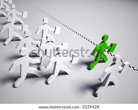 Business Challenge - stock photo