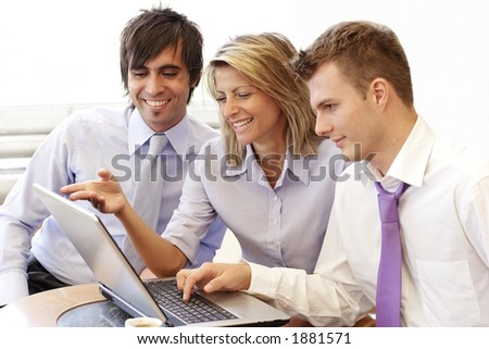business colleagues - stock photo