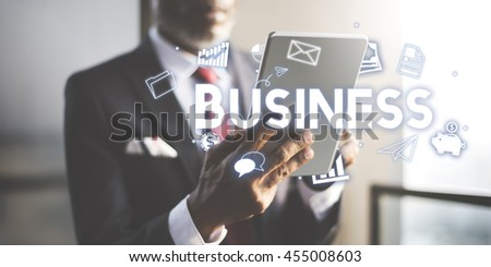 Business Company Strategy Vision Organization Concept - stock photo
