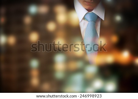 Business concept, background for visit card - stock photo
