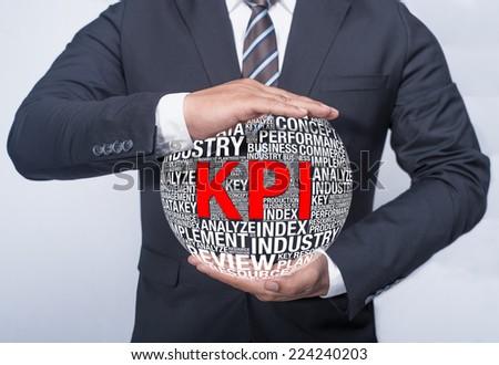 Business Concept KPI - stock photo