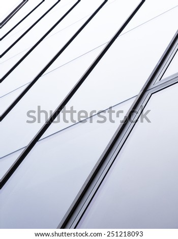 business concept of successful industrial architecture - stock photo