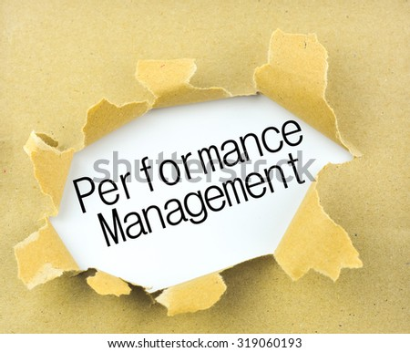 white paper talent performance management