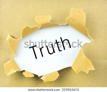 The Truth Stock Photos, Images, & Pictures  Shutterstock