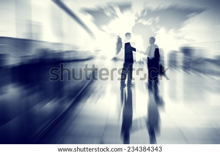 Business Concepts Ideas Coopration Decision Communication Concept - stock photo