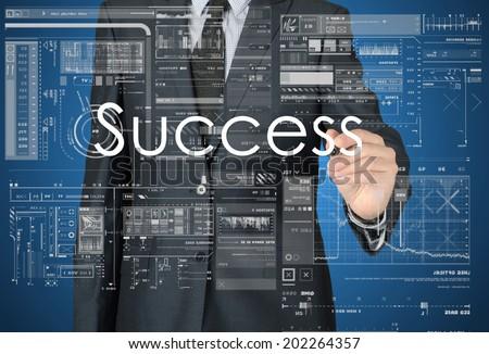 Business Concepts. Success - stock photo