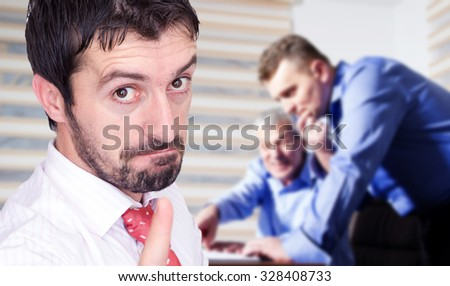 Business conversation - stock photo