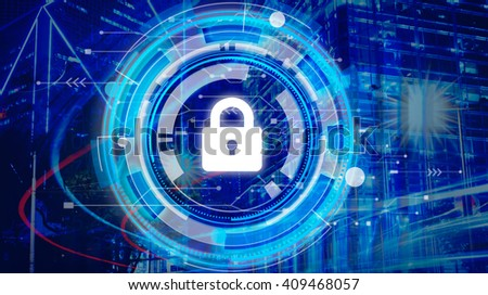 Business Corporate Protection Safety Security Concept - stock photo