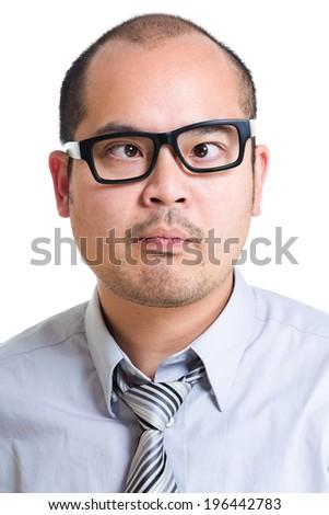 Business cross eye - stock photo