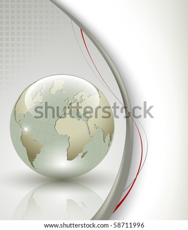 Business elegant abstract background - stock photo