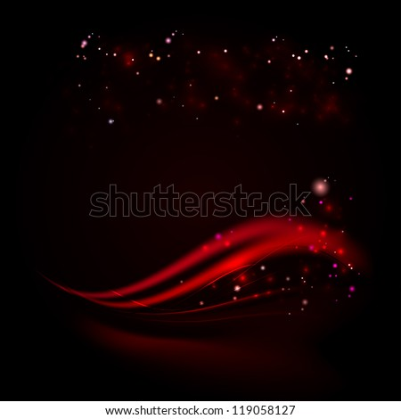Business elegant red abstract background. Illustration. - stock photo