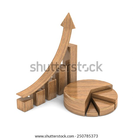 Business finance, statistics, analytic, tax and accounting - stock photo
