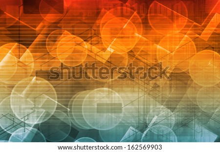 Business Genetics and DNA Research as a Concept - stock photo