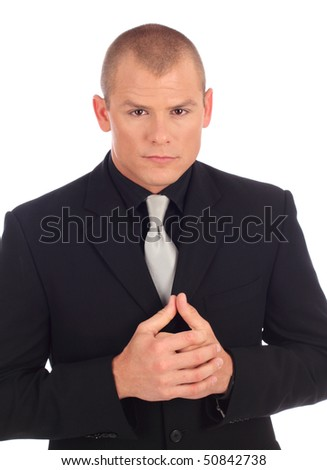 Business Head-shot - stock photo
