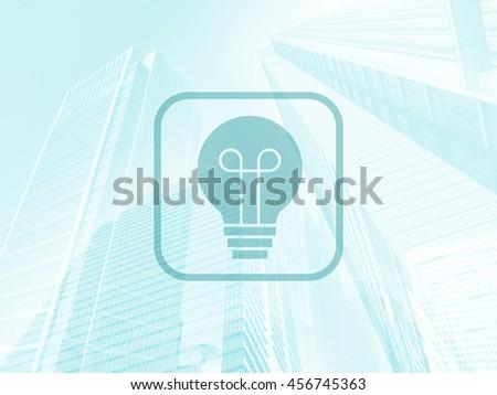 Business idea background - stock photo