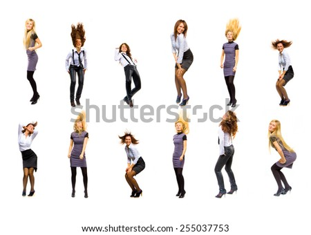 Business Idea Women Diversity  - stock photo
