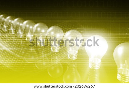 Business Integration as Concept in a Application - stock photo