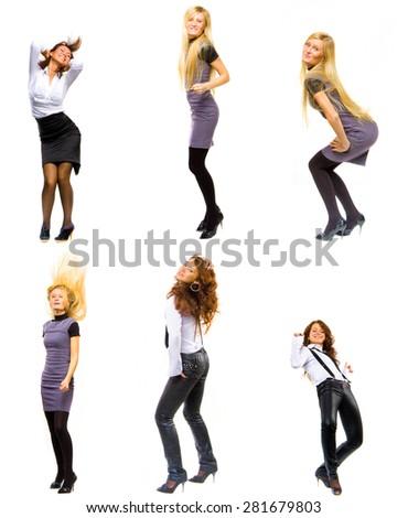 Business isn't boring Women Diversity  - stock photo