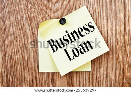 Business Loan - stock photo